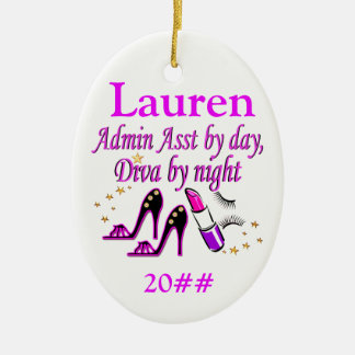 ADMIN ASST DIVA PERSONALIZED ORNAMENT