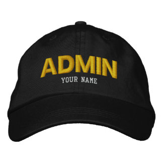 ADMIN Cap Embroidered Baseball Caps