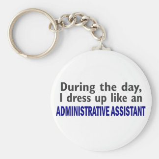 ADMINISTRATIVE ASSISTANT During The Day Key Ring