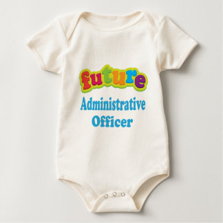 Administrative Officer (Future) For Child Baby Bodysuit