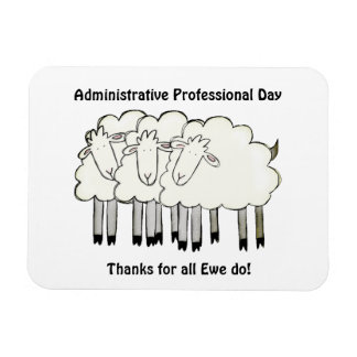 Administrative Professional Day - Thanks Magnet