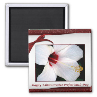 Administrative Professionals Day Floral Magnet
