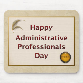 Administrative Professionals Day Tradition Mouse Pad