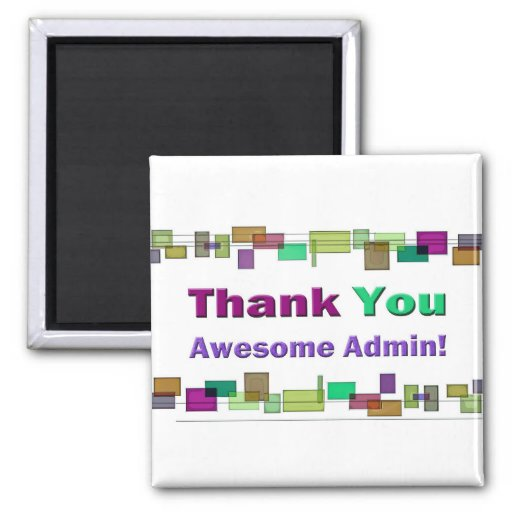 Administrative Professionals Gifts Awesome Admin Fridge Magnets