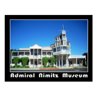 Admiral Nimitz Museum, Fredericksburg, Texas Postcard