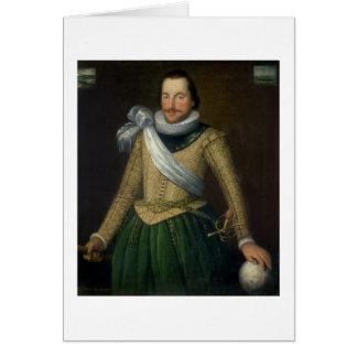 Admiral Sir Thomas Button (d.1694) Card