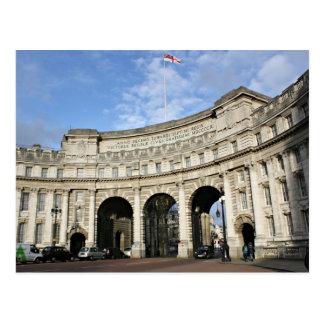 Admiralty Arch, London Postcard