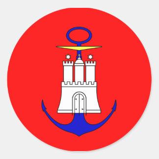 Admiralty   Hamburg, Germany Classic Round Sticker