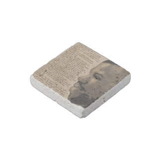 """""""Admired"""" Natural Stone Magnet"""