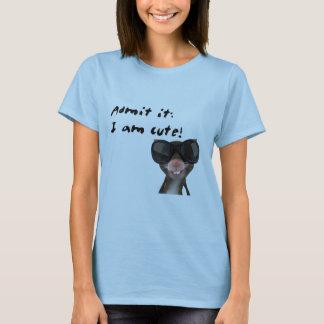 Admit it, I am cute Mouse T-Shirt