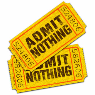 Admit Nothing Cut Outs