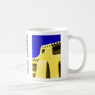 Adobe Building Santa Fe New Mexico Mug