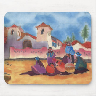 Adobe gathering mouse pad