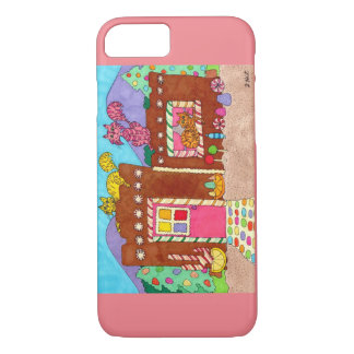 Adobe Gingerbread House with Cats iPhone 7 Case