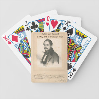 Adolf von Henselt Bicycle Playing Cards