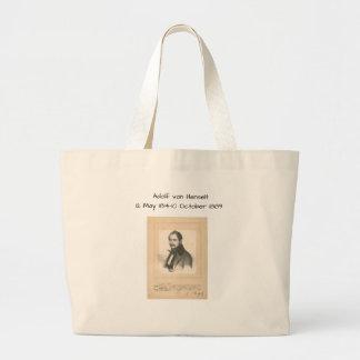 Adolf von Henselt Large Tote Bag