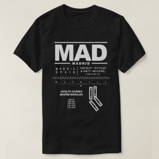 Adolfo Suárez Madrid-Barajas Airport MAD T-Shirt