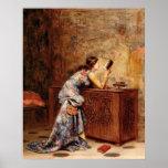 Adolphe Alexandre Lesrel  Captivated Print