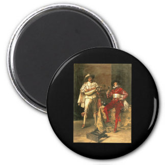 Adolphe Alexandre Lesrel Gentlemens Pleasures 6 Cm Round Magnet