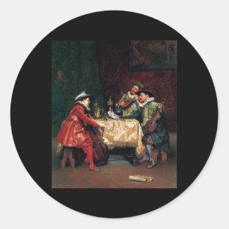 Adolphe Alexandre Lesrel The Rehearsal Sticker
