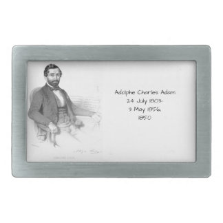 Adolphe Charles Adam, 1850 Belt Buckle