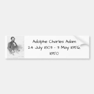Adolphe Charles Adam, 1850 Bumper Sticker