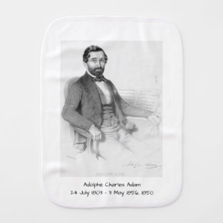 Adolphe Charles Adam, 1850 Burp Cloth