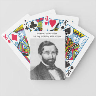 Adolphe Charles Adam, 1850a Bicycle Playing Cards