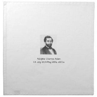 Adolphe Charles Adam, 1850a Napkin