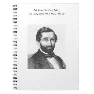 Adolphe Charles Adam, 1850a Notebooks