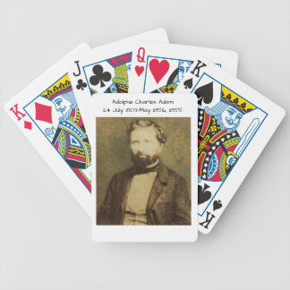 Adolphe Charles Adam, 1855 Bicycle Playing Cards