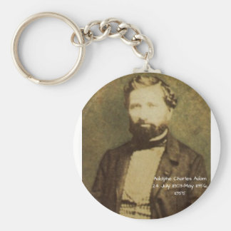 Adolphe Charles Adam, 1855 Key Ring