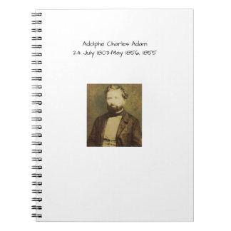 Adolphe Charles Adam, 1855 Notebooks