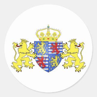 Adolphe Ier de Nassau Luxembourg , Netherlands Classic Round Sticker