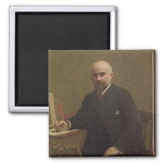 Adolphe Jullien  1887 Square Magnet