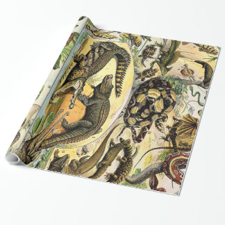 Adolphe Millot Reptiles 1 Wrapping Paper