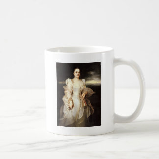 Adolphe Monticelli Portrait Of A Woman Coffee Mug