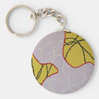 Adonais Basic Round Button Key Ring