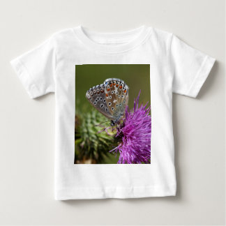 Adonis blue butterfly (Polyommatus bellargus) Baby T-Shirt