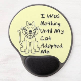 Adoped by a Cat Gel Mouse Pad