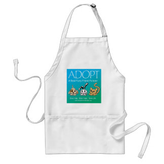 Adopt A Best Furry Friend Forever Standard Apron