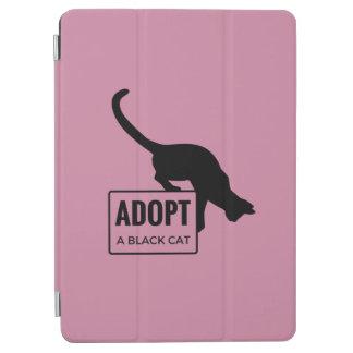 Adopt a Black Cat iPad Air Cover