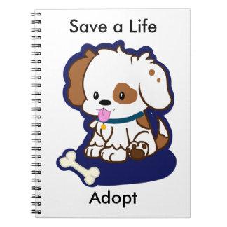Adopt a Dog Notebooks