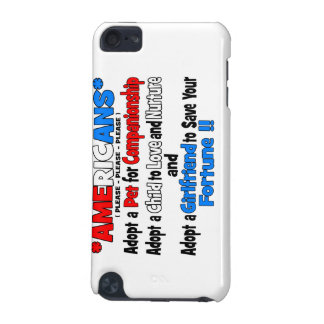 Adopt A Girlfriend iPod Touch 5G Cases