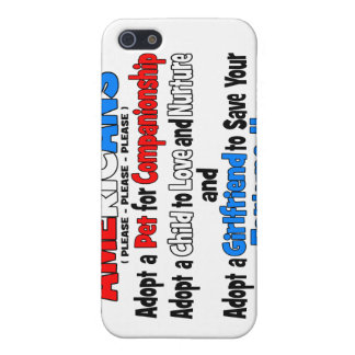 Adopt A Girlfriend iPhone 5 Covers