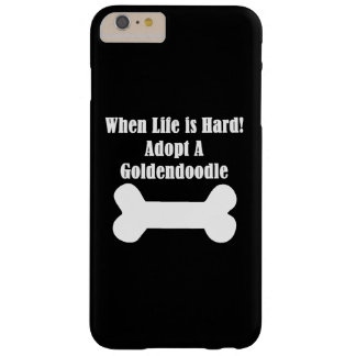 Adopt A Goldendoodle Barely There iPhone 6 Plus Case