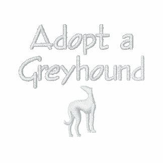 Adopt a Greyhound: Make a Fast Friend Embroidered Shirt
