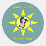 Adopt A Greyhound Sunshine In Your Life Sticker