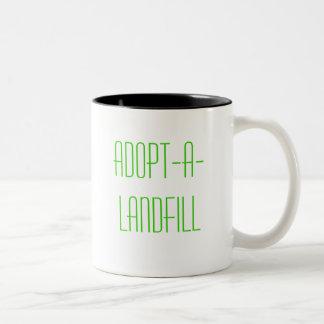 Adopt-A-Landfill Two-Tone Mug