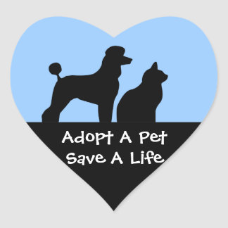 Adopt A Pet Stickers